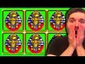 Triple Stars High Limit Slot Play With Bonus Rounds - YouTube