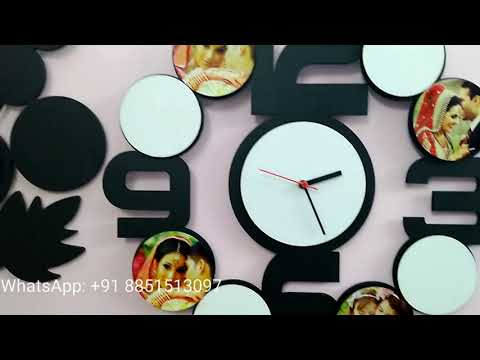 Sublimation Collage Frames, Clocks And Wall Frames From Koncept Sublimation Blank Products Range