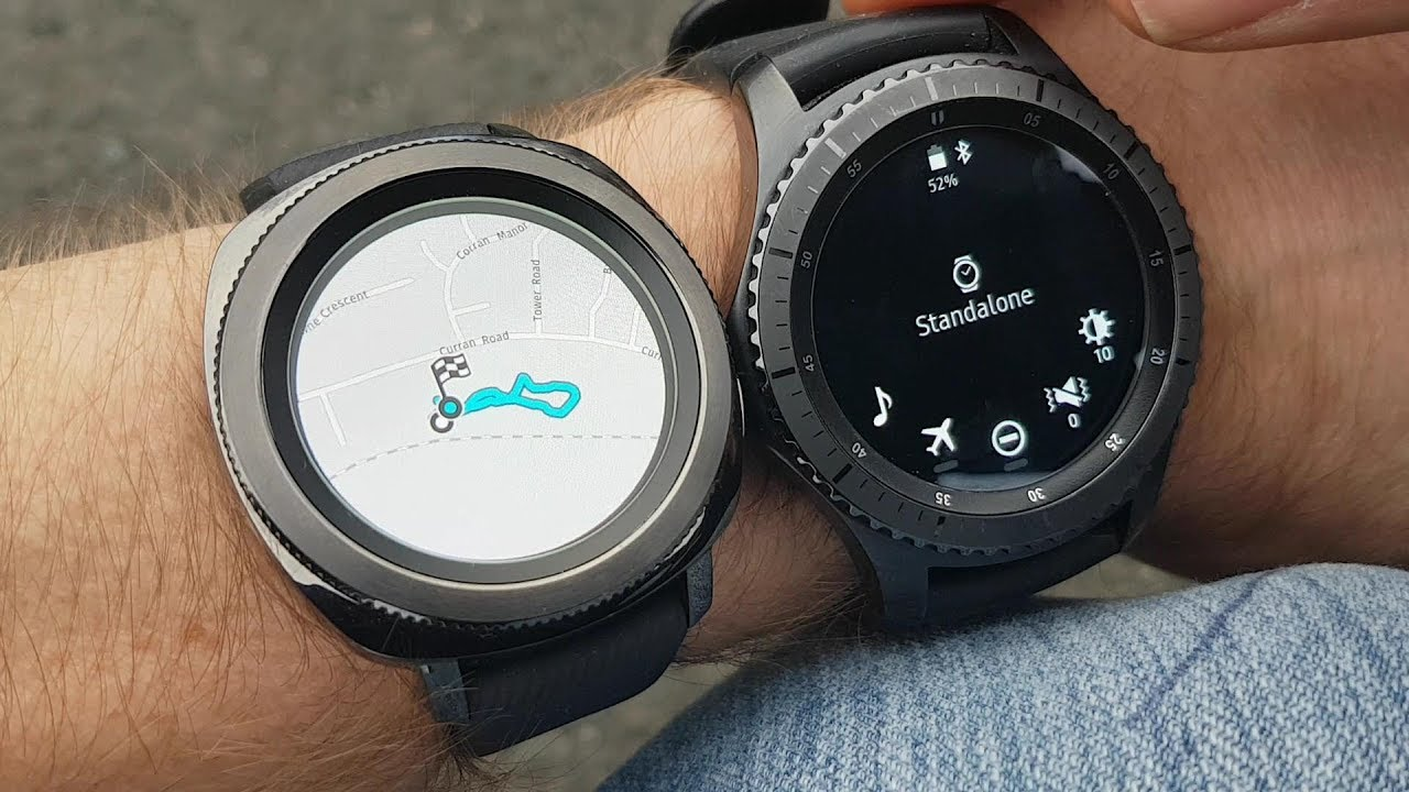 Samsung Gear Sport & Gear S3 GPS comparison Part 2