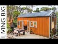 Architect and Designer Couple Create Spectacular Tiny House In The Bush