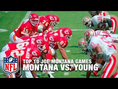 #3: Montana vs. Young | Top 10 Joe Montana Games of All Time | NFL Films