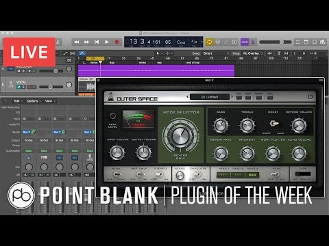 Plugin of The Week: Outer Space Tape Echo (AudioThing)