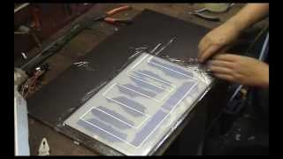 Solarcells EVA encapsulation process part 1 of 2