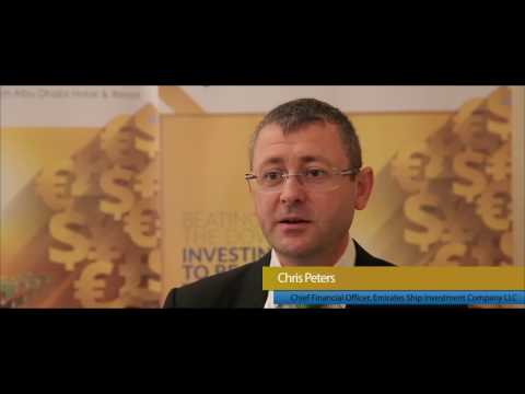 TMS Ship Finance & Trade Conference 2016, Chris Peters, CFO, Emirates Ship Investment Company LLC
