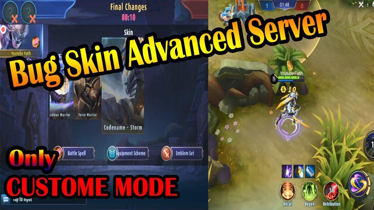 bug skin advanced server - mobile legend