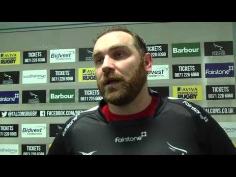 Andy Goode Newcastle Falcons vs Harlequins