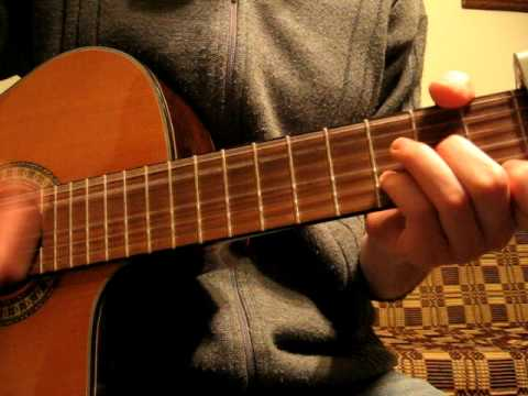 Sail away guitar