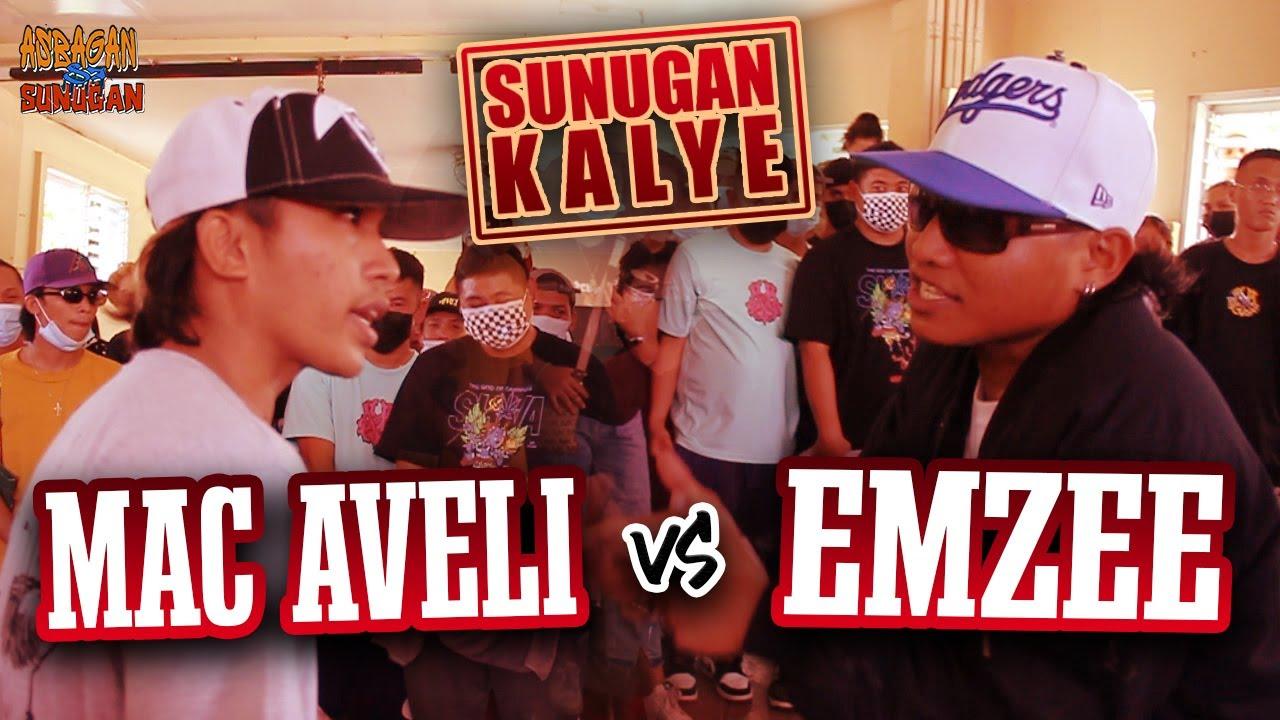 SUNUGAN KALYE - Mac Aveli vs Emzee