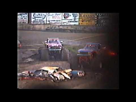 1991 Monster Trucks   Middletown, NY OCFS