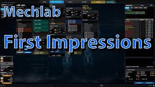 MWO - New Mechlab First Impressions