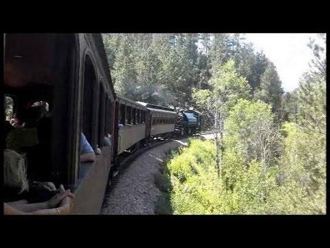 1880 Train from Keystone to Hill City South Dakota   STEAM POWERED