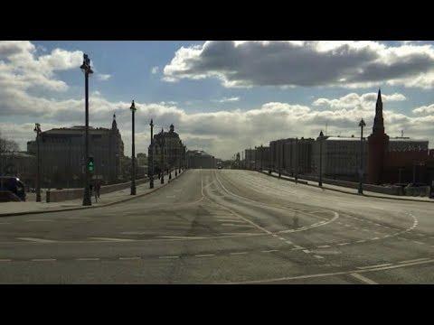 Москва на самоизоляции. Всем сидеть дома. Коронавирус в столице