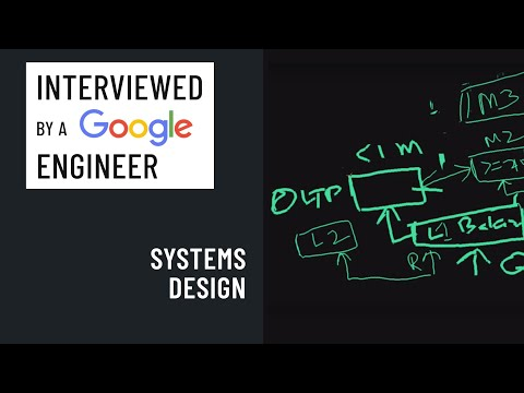 Systems Design Interview With A Google Engineer: Distributed Databases