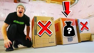 WHICH MYSTERY BOX HAS THE SECRET ITEM? w/ UnspeakableGaming MERCHANDISE - https://www.unspeakable.co/ MY OTHER CHANNELS!