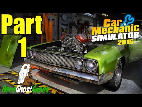 Car Mechanic Simulator 2015 Gameplay Playthrough Part 1 - Simple Suspension Work (PC)