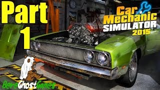 Car Mechanic Simulator 2015 Gameplay Playthrough Part 1 - Simple Suspension Work (PC)
