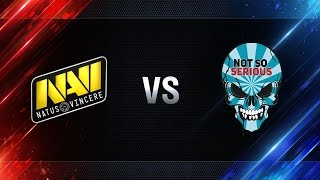 Natus Vincere vs Not So Serious - day 2 week 4 Season I Gold Series WGL RU 2016/17