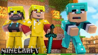 PLAYING WITH A BED WARS GOD!!!! | Minecraft Bed Wars