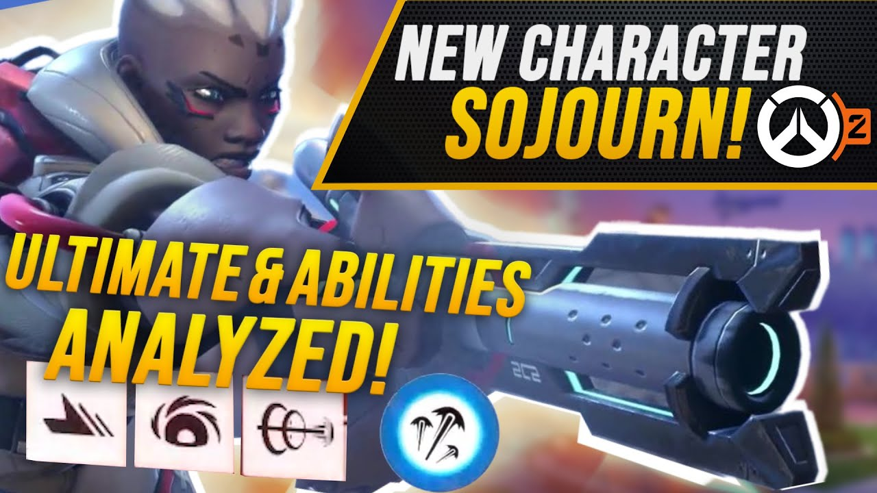 Download Overwatch 2 New Hero Sojourn Revealed! | BlizzCon Highlights