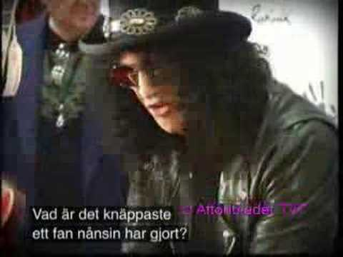 Slash - Velvet Revolver interview