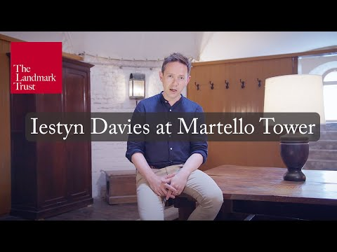 Iestyn Davies sings With a Heigh Ho, the Wind and the Rain at Martello Tower