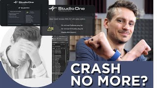 New Safety Options in Studio One - No More Crashes?!