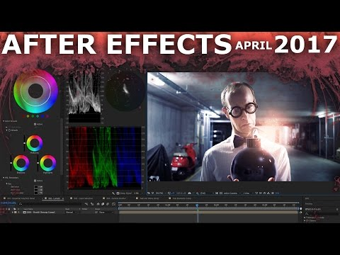 Adobe After Effects April 2017 - New Features Update