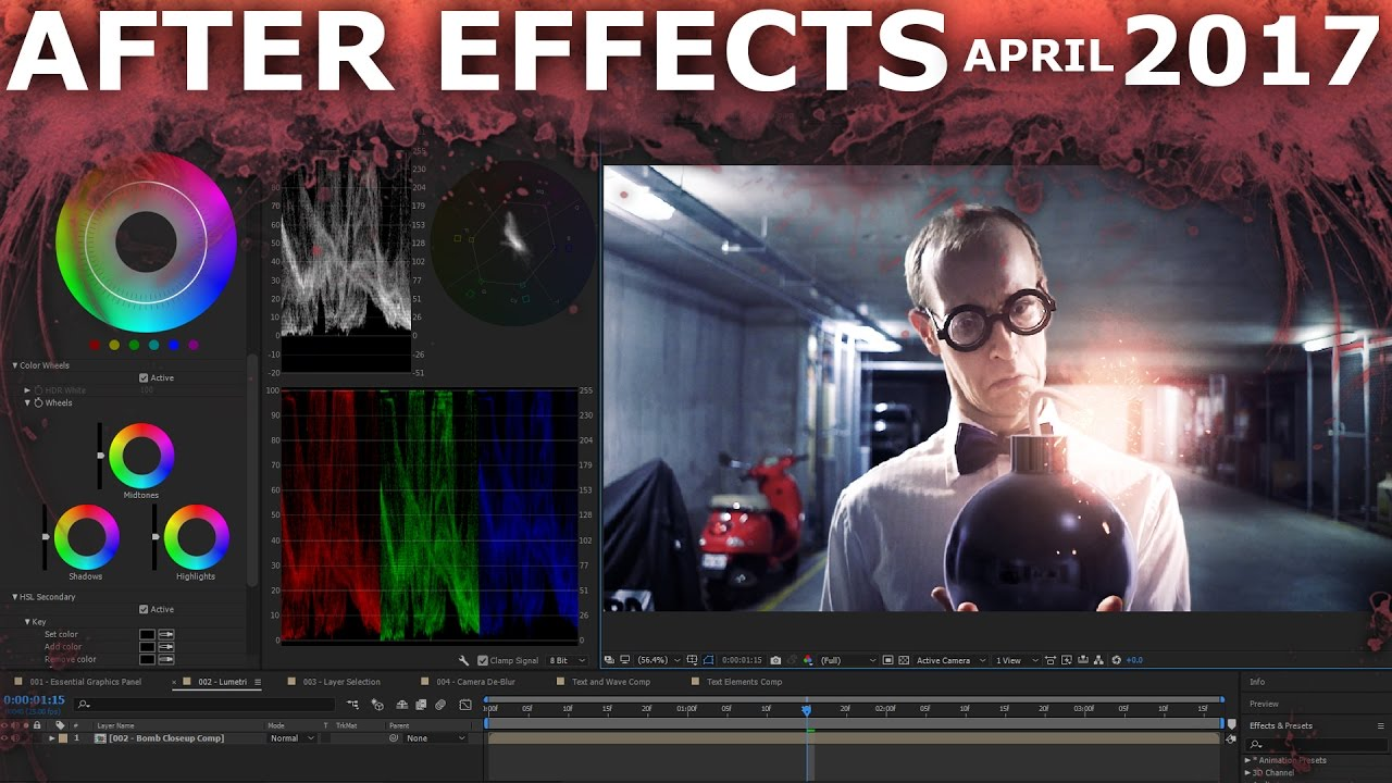 Adobe After Effects April 2017 - New Features - Surfaced Studio