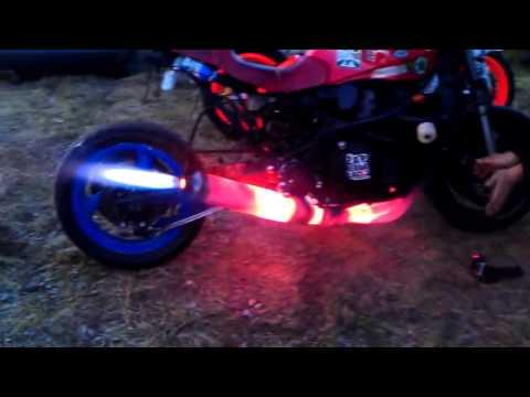 Màn nẹt pô khủng nhất từ chiếc Siêu moto pkl |2banh.vn