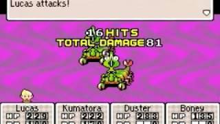 Mother 3 16-Hit Combo Compilation [Part 1]