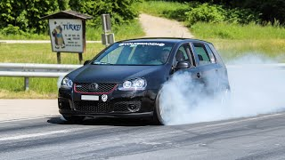 Best of Wörthersee 2019   Burnouts, Slides, Bangs, Accelerations, Loud Sounds, ...