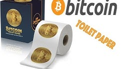 Bitcoin Toilet Paper - The Funniest Gag Gift For Crypto Traders & Haters
