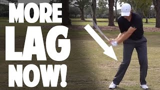 NEW GOLF LAG DRILL TO CRUSH YOUR IRONS   SSS