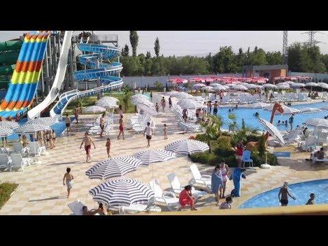 Самый большой аквапарк в Среднем Азии  Душанбе .