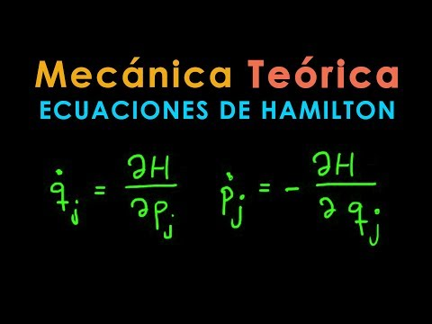 13 - Mecánica Teórica [Ecuaciones de Hamilton] - YouTube