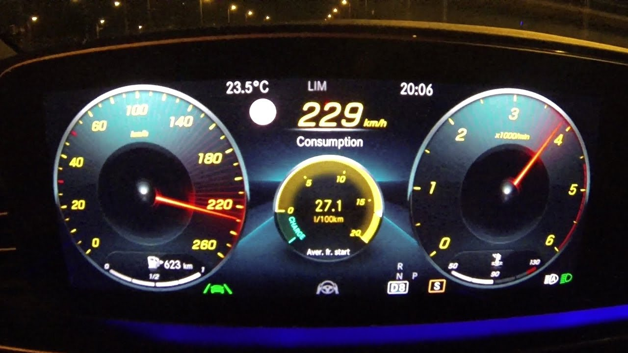 2021 Mercedes GLE Coupe 400d 0-229 km/h full acceleration