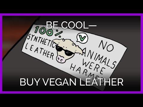 Be Cool—Buy Vegan Leather