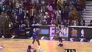 1992 NBA All-Star Game - Magic Johnson puts on a show in the final 4 minutes