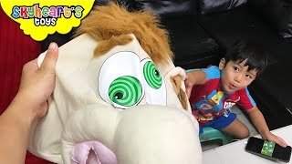 SQUISHY BALLS inside Ned's Head? Tabletop Game Surprise Toys for Kids Playtime Family