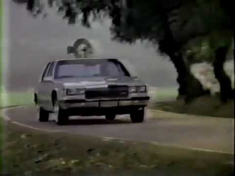 Cadillac Commercial 1984