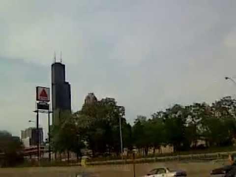 Entering Chicago City