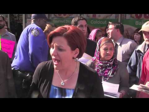 Speaker Quinn Rallies With Locked Out Trade Fair Workers