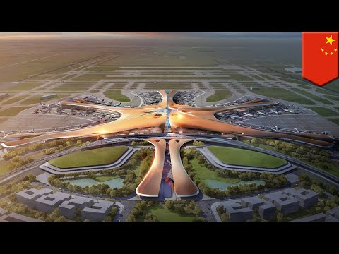 Beijing Daxing Airport: Take a look inside the new Beijing mega airport - TomoNews