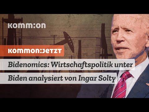 Bidenomics: Wirtschaftspolitik unter Biden analysiert von Ingar Solty