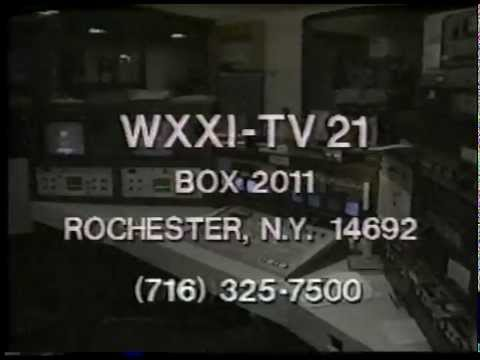 WXXI-TV sign-on (mid 1980's)