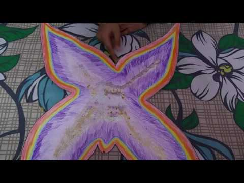 Fairy wing making - Beautiful Easy DIY
