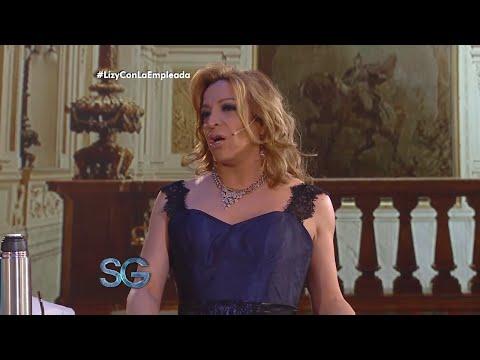 Lizy Tagliani opacó a Gasalla en el sketch de la empleada y contó quién es su nuevo novio