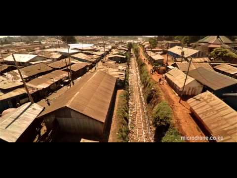 Flying Around Kibera Slum