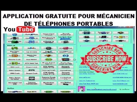 logiciel gratuit decodage et flashage telephone portable