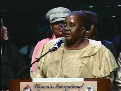 Scholarships recognition 60th Women Intl conv 2010 in Los Angels , Ca  COGIC
